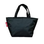 LUNCH BAG BLACK 20X14X20CM