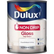 DULUX NON DRIP GLOSS PBW 750ML