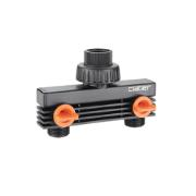 CLABER 3/4 MALE TWO-WAY ADAPTER
