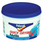 POLYCELL QUICK DRY POLYFILLA 500GM