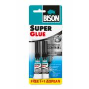 BISON SUPER GLUE PROMO1+1 2X3G