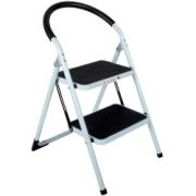 METAL FOLDING STOOL WITH 2 STEPS
