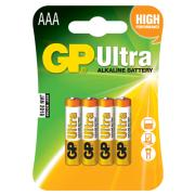 GP AAA BATTERIES 4PCS ALCALINE