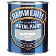 HAMMERITE HAMMERED SILVER GREY 750ML