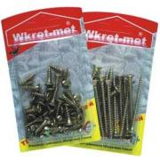 WRET-MET 65pcs WOOD SCREW 3,0x12mm