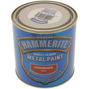 HAMMERITE HAMMERED RED 750ML