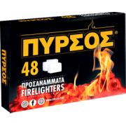 PYRSOS FIRE LIGHTERS 48 PCS