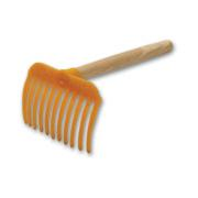 PLASTIC OLIVE COMB NO1-YELLOW