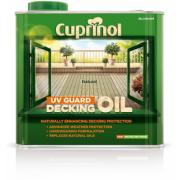 CUPRINOL  NATURAL DECKING OIL & PROTECT