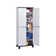 RAM CABINET PRESTIGE 4 SHELVES GREY 68Χ39Χ171CM