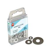 FER 6PCS WIDE FLAT WASHER M10