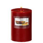 STUDIO HOUSE WIN CANDLE BURGANDY 6.8X9.5CM (MAGIC)