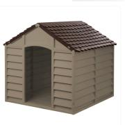 STARPLAST DOG KENNEL BEIGE/MOCCA L