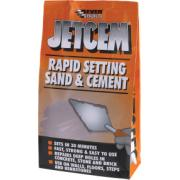 EVER BUILD  JETCEM PREMIX SAND & CEMENT 6KG