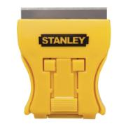 STANLEY 0-28-218 - MINI WINDOW SCRAPER WITH 5 REPLACEMENT BLADES.