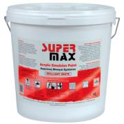 SUPER MAX PAINT WHITE 9L ACRYLIC