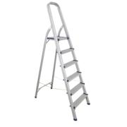 SUPER STEP LADDER 5+1 ALUMINIU