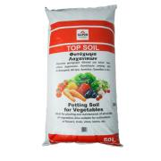 SUPERGARDEN POTTING SOIL TOP 50LT