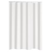 TEXT.CURTAIN 180X200 UNI WHITE