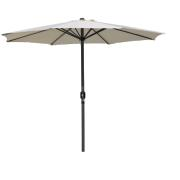 MARKET 4M ALUM.UMBRELLA NATURAL