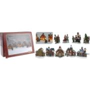 VILLAGE SET OF 9