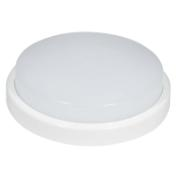 J&C LED 12W OUTDOOR BULKHEAD CEILING LIGHT ROUND 4000K IP54 Ø210MM