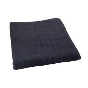 BATH TOWEL BLACK 85X150 500