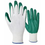 ELTRECH NITRILE GARDEN GLOVES 8 GREEN