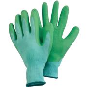 ELTRECH LATEX GARDEN GLOVES MEDIUM GREEN