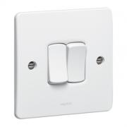 LEGRAND SYNERGY SWITCH 2 GANG 2 WAY