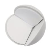 CORNER BUFFER 34MM WHITE 2PCS