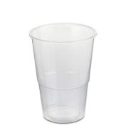 CLEAR BEER CUP 500CC 50PCS
