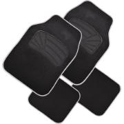 GEAR&GO SHC CARPET CAR MAT 4PCS BLACK/GREY