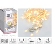 XMAS LED LIGHTS 48L WW BO TRAS