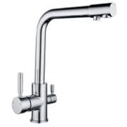 HOFER KITCHEN MIXER TRIPLE SUPPLY WITH A SEPARATE SUPPLY FOR DRINKABLE WATER