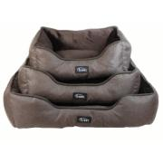 SHC DOG BED 50X40X18 BROWN