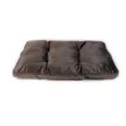 SHC DOG CUSHION 78X53X7 BROWN