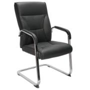 ORCHID VISITOR CHAIR BLACK