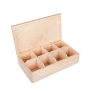 WOODEN OX WITH 8 DIVIDERS