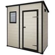 KETER MANOR SHED 6X4FT BEIGE