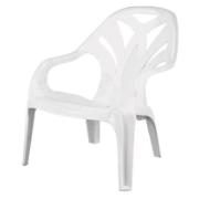 STARPLAST POOL CHAIR WHITE