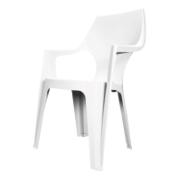 KETER DANTE HIGH CHAIR WHITE