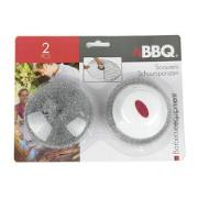 BBQ SCOURINGPAD SET FOR 2PCS