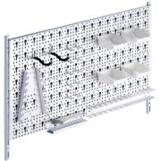 TOOL RACK KIT2 80X40CM WHITE
