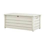 KETER BRIGHTWOOD STORAGE BOX 455LTR WHITE