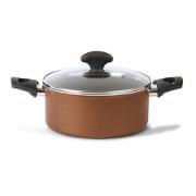 TVS REALE CASSEROLE WITH LID 24CM