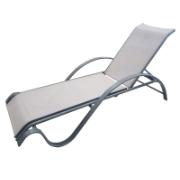 CHICAGO SLING LOUNGEBED BEIGE
