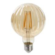 J&C 'PUMPKIN' LED 4W FILAMENT BULB E27 300LM 2200K AMBER