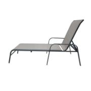 LIANA ST LOUNGER BED L. GREY
