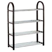 SHOE RACK FOR 8 PAIRS 50x19x60,5 cm